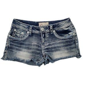 Charme Women's Low Rise Bootie Shorts Size 28